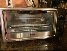 4-Slice Toaster Oven - Black/silver