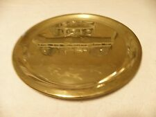 Decorative brass serving tray