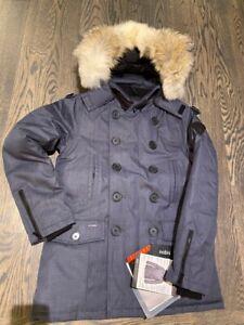 Canada Nobis Kato Jacket  Parka Peacoat  Down  size S balsam jacket msrp 1095$