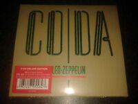 LED ZEPPELIN - CODA: REMASTERED 3CD ALBUM SET NEW AND SEALED