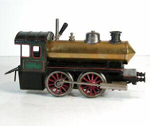 ca1920s LIVE STEAM ENGINE RAILROAD LOCOMOTIVE MODEL TRAIN ENGINE By BING 1 GAUGE