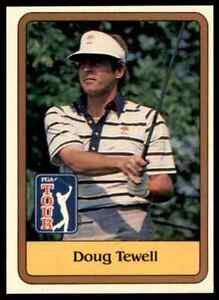 1981 DONRUSS GOLF PGA TOUR DOUG TEWELL #17