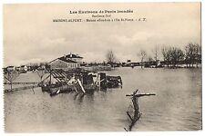 CPA 94 - MAISONS ALFORT (Val de Marne) - Maison effondrée à l'Ile St-Pierre