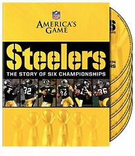 NFL America's Game - Pittsburgh Steelers 6 Super Bowls 6er [DVD] NEU Bowl