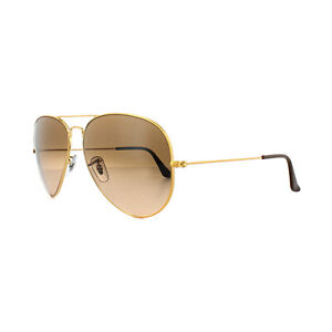 Ray-Ban Sunglasses Large Aviator 3026 9001A5 Bronze Copper Pink Brown Gradient