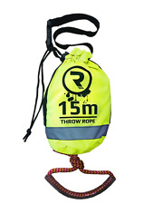 Throw Rope / Safety Line for Watersports Size 15m Long 8mm Thick From Riber