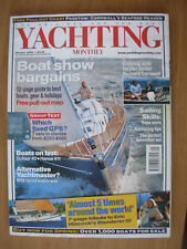 YACHTING MONTHLY MAGAZINE JANUARY 2003 No 1157 LONDON BOAT SHOW
