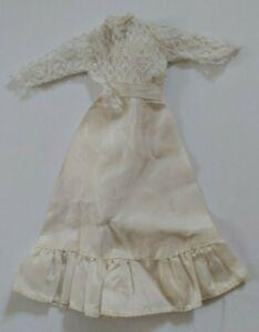 Mattel Barbie Kleidung vintage hübsches Kleid / Hochzeitskleid