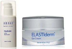 Obagi Hydrate Facial Moisturizer 1.7 oz & ELASTIderm Eye Cream 0.5 oz