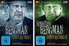 4 DVDs * SEBASTIAN BERGMANN - SPUREN DES TODES 1 + 2 IM SET # NEU OVP &