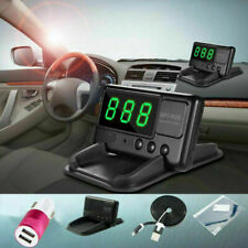 Digital Car HUD GPS Speedometer Overspeed Alarm Day&Night-time Driving MPH/KM/h