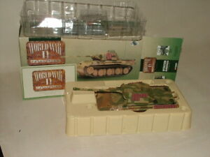 CORGI LIMITED ED. MILITARY DIECAST 1:50 WWII RUSSIA 1943 PANTHER TANK CC60201