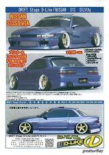 D-Like 1/10 Scale RC Drift Car Nissan Silvia S13 198mm Body DL103 Drift JDM Body
