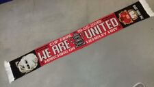 Man United  matchday scarf FA CUP FINAL 19th MAY 2018. United v Chelsea