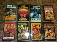 8 Science Fiction/Alternate History books~William R. Forstchen~Harry Turtledove