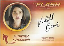 THE FLASH SEASON 2 - VB VIOLETT BEANE (JESSE WELLS) AUTOGRAPH CARD