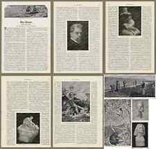 Fotobericht Max Klinger Biografie Symbolismus Kunst Bildhauer Maler Leipzig 1907