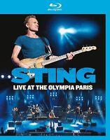 STING - LIVE AT THE OLYMPIA PARIS (BLU-RAY)   BLU-RAY NEU