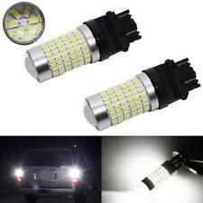 2pcs Super White 3157 3156 144SMD 2800 Lumens LED Bulbs for Backup Reverse Light