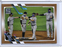 2021 Topps Series 1 - Colorado Rockies Team Card - #73 Gold Parallel #'d /2021