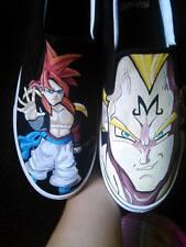 Men's Dragonball Z Custom Hand Painted Shoes