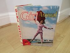 GIRL ANNUAL Number 10 1962 -  with dust jacket - Good condition