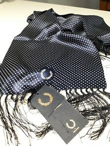 Fred Perry Tootal 100% Silk Scarf