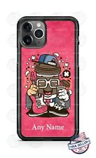Coffee Lover Person Rock Star Custom Phone Case For iPhone Google Samsung LG