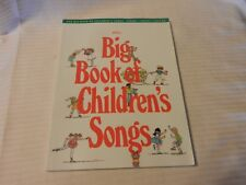 Big Books of Music: The Big Book of Children's Songs (1988, Paperback)