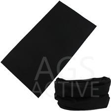 Black FACE MASK Sun Shield Neck Gaiter Headband Bandana Du Rag Skull Cap SPF40
