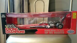 1996 Racing Champions BLAINE JOHNSON Travers Top Fuel Dragster 1/24 Die Cast MIB