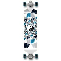 Yocaher Drop Down YingYang Longboard Complete