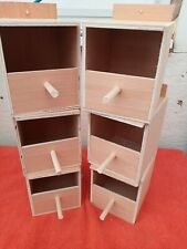 More details for finch nest boxes x6