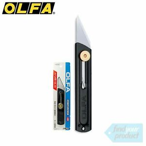 OLFA 26B BOX CUTTER INC 3 blades (CARPET, SUBSTRATE, STANLEY KNIFE, BLADE)