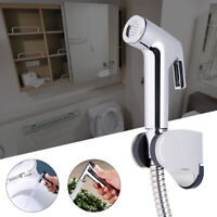 Spraybrause Bidet Brause mit Halter ABS WC Hand Duschkopf Hygiene Dusche Bad Set