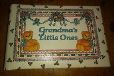 "Vintage Unused 1977 Lucy Rigg Bears ""Grandma's Little One"" Brag Book Photo Album"