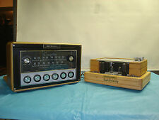 ELECTROHOME 6V6 TUBE STEREO  AMPLIFIER + TUBE PREAMP & TUNER