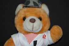 "Brown Bear Works Karate ARMY GI Cap Uniform 13"" Plush Stuffed Animal Lovey Toy"