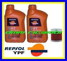Kit Tagliando SUZUKI DRZ 400 10>11 Filtro Olio REPSOL 10W/40 DR-Z E S 2010 2011