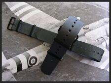 NEW British Admiralty Grey 20m 22m NATO G10 PVD watch strap RAF Bonded IW SUISSE