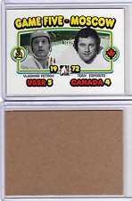 TONY ESPOSITO VLADIMIR PETROV 09/10 ITG 1972 BLANK BACK SP #191 Parallel Card