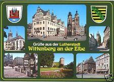 AK, Lutherstadt Wittenberg, 6 Abb., Strassenansichten