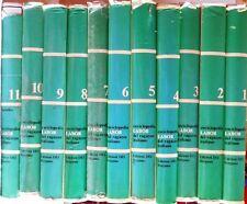 LOTTO 11 VOLUMI ENCICLOPEDIA LABOR DEL RAGAZZO ITALIANO 1971 COMPLETA BERGAMO