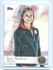 "2012 TOPPS OLYMPIC ALEX MORGAN SOCCER ROOKIE ""GOLD"" CARD #90 ~ WORLD CUP ~ QNTY"