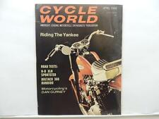 April 1968 Cycle World Magazine Yankee Sportster Bultaco 360 Bandido Bates L7347
