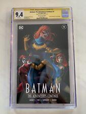 Batman The Adventures Continue #1 CGC 9.4 Warren Louw Signed HOMAGE Cover