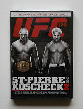 UFC 124 ULTIMATE 2-DISC EDITION GEORGES ST-PIERRE & JOSH KOSCHECK 2  REMATCH NEW