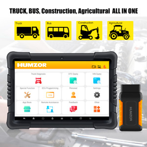 ND566 Bluetooth Tablet Heavy Duty Truck OBD2 Scanner Full System Diagnostic Tool