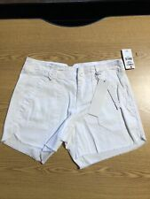 Unionbay Junior 1 Cut-off Utility Shorts White Jeans Retail $36 (blk-7-52)