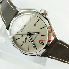 Parnis 43mm Gray Dial Sapphire glass Miyota 821A Automatic Mens Wrist watch 2798